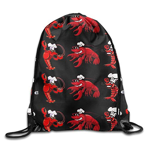 Crawfish Chef Unisex Drawstring Backpack Travel Sports Bag Drawstring Beam Port Backpack. - The North Face Insulated Belt