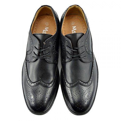 Kick Footwear Groundwork, Scarpe stringate uomo Black