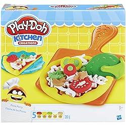 Hasbro Play-Doh B1856EU6 - Pizza Party, Knete