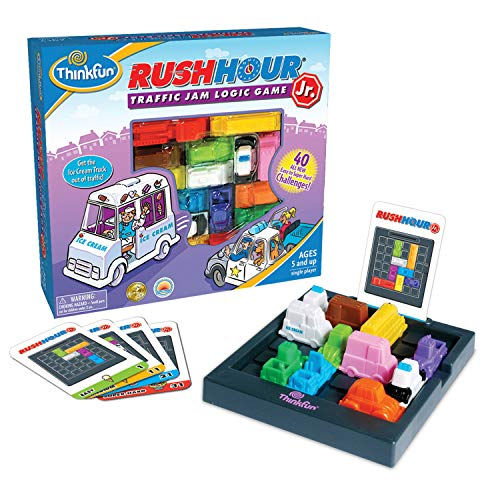 CAGO Thinkfun Rush Hour Junior - Traffic Jam Logic Game (2nd Edition) -