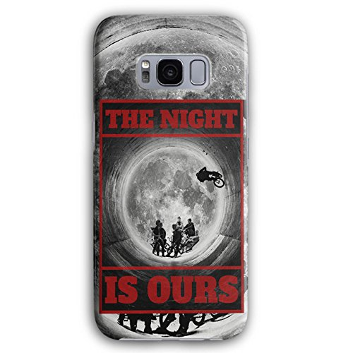 Wellcoda Nacht BMX Mond Mode 3D Galaxy S8 Plus Hülle