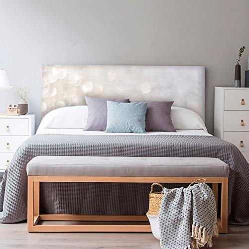 setecientosgramos Cabecero Cama PVC   SoffLigth   Varias Medidas   Fácil colocación   Decoración Dormitorio (150x60cm)