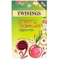 Twinings Bakewell De La Cereza De Té Verde 20 Por Paquete
