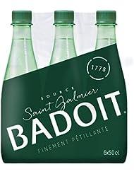 Badoit Verte Eau Minérale Gazeuse Finement Pétillante Bouteille 6 x 50 cl