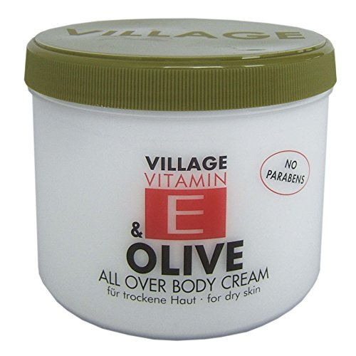 Village 9506-14 Olive Body Cream 500ml mit Vitamin E