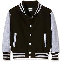 AWDis Kids Varsity Jacket, Chaqueta Bomber para Niños