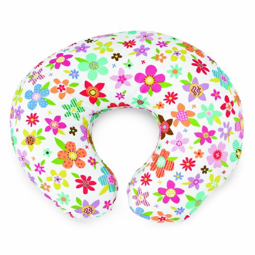chicco-boppy-housse-coton-polyester-pour-coussin-2-coloris-recto-verso-collage-flowers
