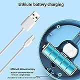 Nishci Tischstaubsauger-Tischstaubsauger - Mini-Tischstaubsauger Lithium-Batterie-Aufladeart Top mit Netzkabel Aufbewahrungsbox - 3