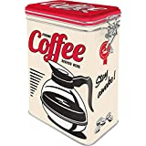 Nostalgic-Art 31105 USA - Strong Coffee Served Here | Retro Aromadose| Blech-Dose | Kaffee-Dose |...