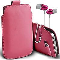 Fone-Case (Light Pink) Alcatel Fierce 4 alta qualità in pelle