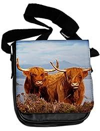 Highland Vaca Animal Bolsa De Hombro 152