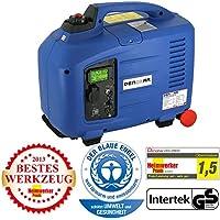 DENQBAR 2,8 kW Inverter Stromerzeuger Notstromaggregat Stromaggregat Digitaler Generator benzinbetrieben DQ2800E mit E-Start