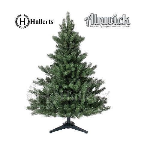 Künstlicher Weihnachtsbaum Spritzguss Nordmanntanne ca. 120 cm - SCHWER ENTFLAMMBAR NACH B1 NORM - Premiumtanne