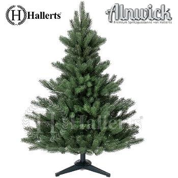 Künstlicher Weihnachtsbaum Spritzguss Nordmanntanne ca. 120 cm - SCHWER ENTFLAMMBAR NACH B1 NORM - Premiumtanne Kunsttanne