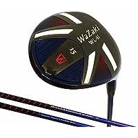 Japan Wazaki WL-IIs Black Oil Finish Mx Steel Fairway Wood USGA PGA Golf Club +Leather Cover