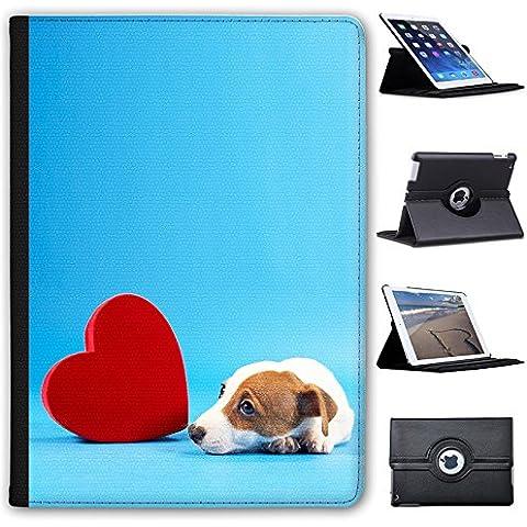 Jack Russell Terrier-Custodia in finta pelle con