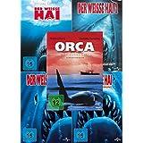 Der weisse Hai 1 - 4 Collection + Orca der Killerwal