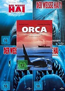 Der weisse Hai 1 - 4 Collection + Orca der Killerwal (5-DVD)