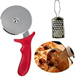 #7: Pizza Cutter Soft Grip With Cheese Grater
