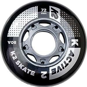 K2 Rollenset 72 mm Active Wheel 8-Pack/ILQ 5, mehrfarbig, One Size, 30B3007.1.1.1SIZ