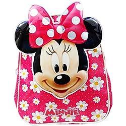 Disney Minnie Flowers Zaino Infantil per Bambini Utile per Asilo come Portamerenda e Tempo Libero