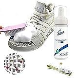 Sneaker White farblos Reinigungsschaum für wasserlose Kleidung,spilfreies reinigungsspray,Foam Cleaner All-Purpose Bubble Cleaner-Kleidung Mantel