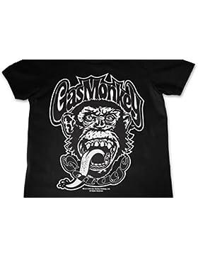 Mercancía con Licencia Oficial Gas Monkey Logo Unisexo Niños T-Shirt Ages 3-12 Years