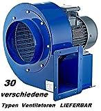 OBR 200M-2K Industrial Radial Radiales Ventilador Ventilación extractor Ventiladores Centrifugo...