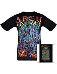 Arch Enemy, T-Shirt, Tour 2015 Hell