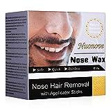 Nose Wax, Nasenwachs, Nasal Hair Removal, Nasenhaare Wachs, Nasenwachs Set für Männer und Frauen,...
