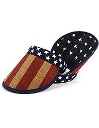 Gr Frauen Männer Sommer Stroh Sonnenhut Visier Breite Krempe Leere Top Sonnenhut Strandkappe mit Amerikanische Flagge Stickerei (Color : Beige, Größe : 57-60CM)
