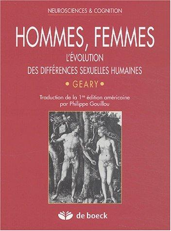 Hommes, femmes : L'évolution des différences sexuelles humaines