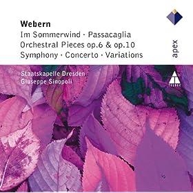 5 Orchestral Pieces Op.10 : I Sehr Ruhig Und Zart