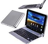 Navitech Schlankes Wireless Mini Bluetooth Keyboard für das Gigaset QV830 8 Zoll Tablet
