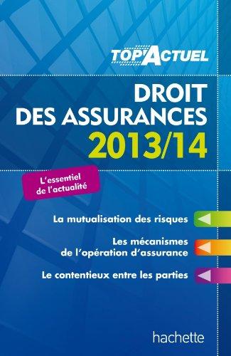 TOP'Actuel - Droit des assurances 2013/2014
