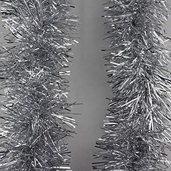 2M x10cm Tinsel Christmas Tree Decorations X/'mas Garland 6.5FT
