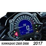 MUJUN Spare Parti di ricambio per motocicli di riparazione universale applicabili a For Kawasaki Z900 Z650 17 metri di pellicola adesiva per pellicola protettiva per strumenti con pellicola antigraffi