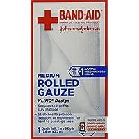 Pflaster Bandaid First Aid 3in x 2,5Yards gerollt Gaze 1CT preisvergleich bei billige-tabletten.eu