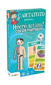 France Cartes Cartatoto-recreo Cuerpo Humano-Juego de Cartas Educativo