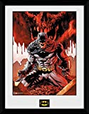 GB eye Ltd Foto Batman Comic Seeing, gerahmt, 1-teilig, ca. 40 x 30 cm, Rot
