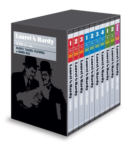 Laurel & Hardy Collection - 19-DVD Box Set ( Unaccustomed As We Are / Berth Marks / Men O'War / Perfect Day / They Go Boom! / The Hoose-Gow / Night Owls / Blott [ Holländische Import ] (Perf Boxen)