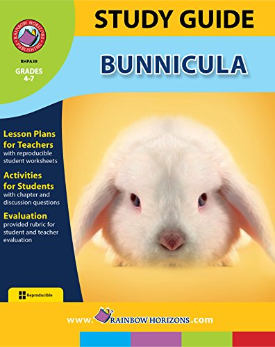 Study Guide - Bunnicula (English Edition)