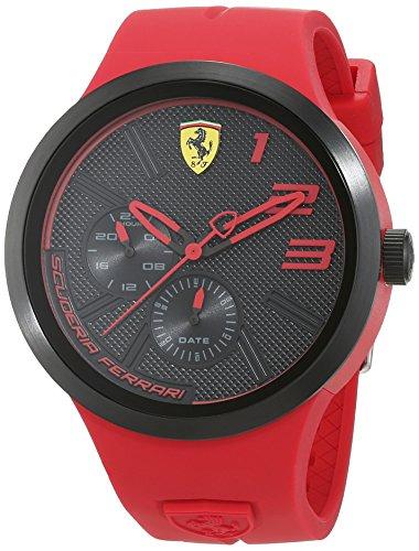 Scuderia Ferrari Herren-Armbanduhr Datum Klassisch Quarz 830396 (G-shock-watch-gelb Und Schwarz)