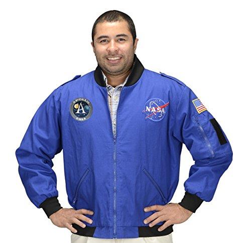 Aeromax NASA Apollo 11 Adult Flight Jacket Large