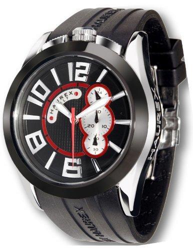 Haurex Italy 3D333UNS Mens Blaze Black Dial Watch