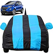 Autofact Car Body Cover for Ford Ecosport with Mirror and Antenna Pocket (Light Weight, Triple Stitched, Heavy