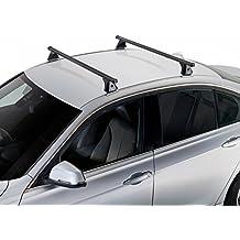 Kit de barras portaequipajes de acero para Renault Megane II Coupé 3P 2002 -- >