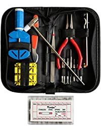 2351678b3ad817 Kurtzy 285 pièces Outil de Réparation Montre Kit - Kit de Réparation Montre  - D