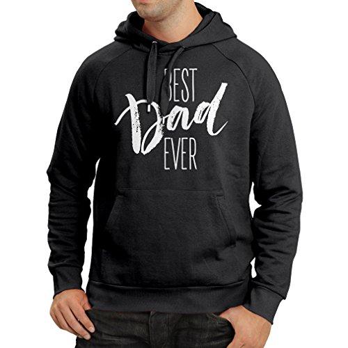 Kapuzenpullover Bester Vati überhaupt glücklicher Vatertag oder Geburtstagsgeschenk für Ehemann (X-Large Schwarz Mehrfarben)