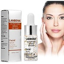 HURRISE Suero de ácido hialurónico para los estiramientos faciales y cutáneos Aclarar la piel Reafirmante Rellenar